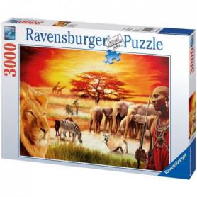 Puzzle 3000 pcs Fierté Du Massai