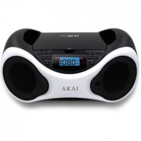 tal - CD MP3 - Bluetooth, USB, AUX - Blanc et noir