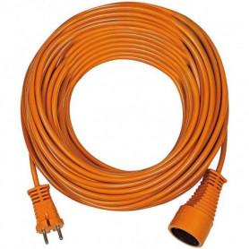 HL Rallonge électrique orange 40m H05VV-F 2x1.5mm2