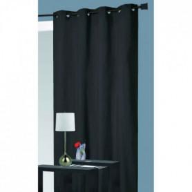 thermique -  Noir - 140 x 260 cm - 100% polyester