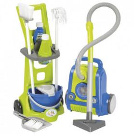 ECOIFFIER CLEAN HOME Chariot Ménage + Aspirateur