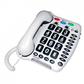 GEEMARC Téléphone fixe grosses touches sénior 23806