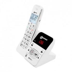 GEEMARC Téléphone grosses touches sénior amplifié numérique sans fil