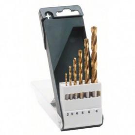 BOSCH Accessoires - 6 forets rectifies hss -tin 11