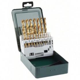 BOSCH Accessoires - 19 forets rectifies hss -tin 1