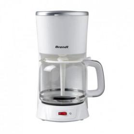 BRANDT CAF1318S Cafetiere filtre - Blanc