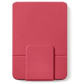 Housse KOBO Sleepcover CLARA HD - Rose/rouge