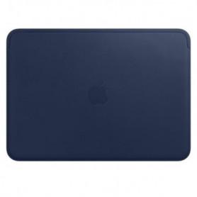 """Housse en cuir pour MacBook 12 """" - Bleu nuit"""