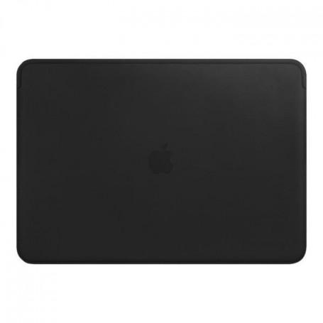 """Housse en cuir pour MacBookPro 15""""- Noir"""