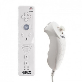 Duo Pack iiMote motion+ & iichuck Wii / Wii U Blan