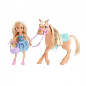 BARBIE - Chelsea & son Poney