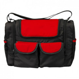 BAMBISOL Sac a Langer Rouge/noir