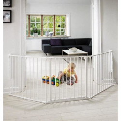BABY DAN Barriere de sécurité Flex L - Bébé mixte - Blanc