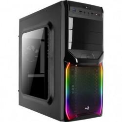 AEROCOOL Boîtier PC V3X - Avec fenetre - RGB - Format ATX