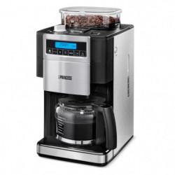 PRINCESS 249402 Cafetiere filtre avec broyeur - Inox