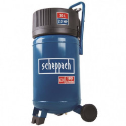 SCHEPPACH Compresseur d'air vertical sans huile 30 L 10 bars