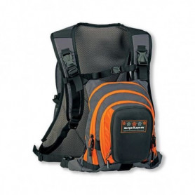 SAKURA Sac de peche Hicker Pack - Orange et noir