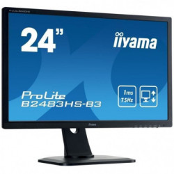 "IIYAMA Ecran 24"" - Full HD - LED - 1 ms - 75Hz - VGA/DP/HDMI"