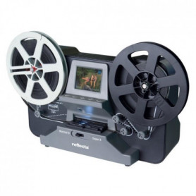 Reflecta Scanner de films Super8 et 8mm - Ecran 2,4""