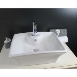 Vasque en céramique Vésuve Blanc
