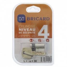 BRICARD SERIAL XP 18006 Demi-cylindre 10+30 mm