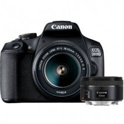CANON EOS 2000D Appareil photo Reflex 24,1 Mpx