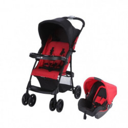 SAFETY 1ST Poussette combinée duo Taly 2 en 1 Ribbon Red Chic