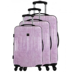 FRANCE BAG - Set de 3 valises  Cadenas TSA ABS/POLYCARBONATE