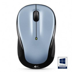 Logitech souris sans fil optique-M325 Light Silver