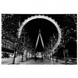 LONDON Tableau photo London - Polystyrene - 90 x 60 cm