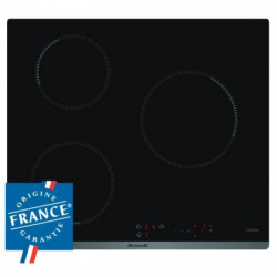 BRANDT BPI6310B - Table de cuisson induction 3 zones - 4600W