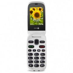 Doro 6030 Blanc Graphite - Téléphone Senior
