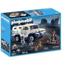 PLAYMOBIL 9371 - City Action - Fourgon Blindé