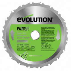 EVOLUTION Lame multi-usages FURY 210mm